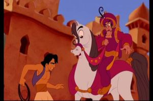 Disney's Aladdin on manners of the rich