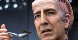 The incomparable Alan Rickman as Dr. Lazarus in Galaxy Quest
