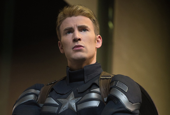 Would you follow this man? I know I would. Chris Evans in Captain America: The Winter Soldier