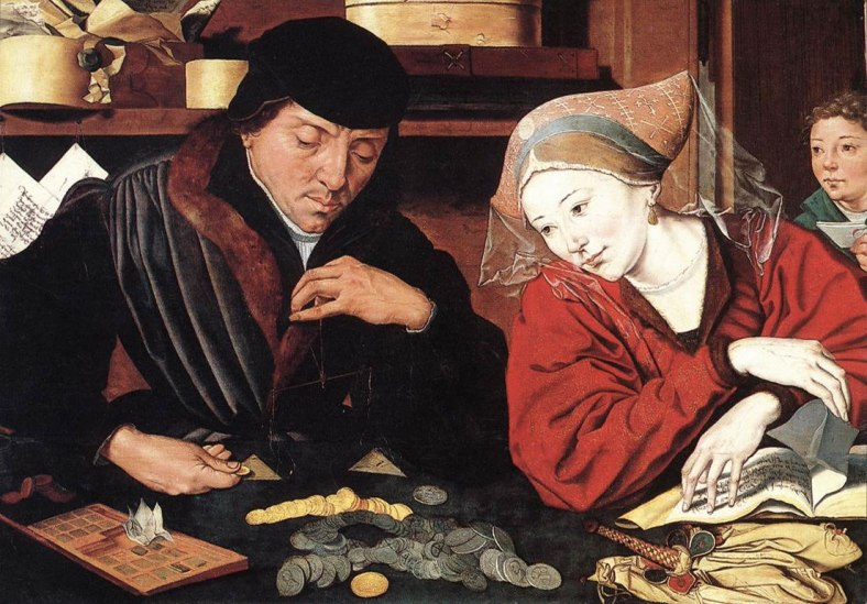 The Money Changer and His Wife