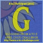 A to Z Letter G