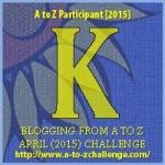 A to Z Letter K