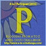 A to Z Letter P