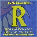 A to Z Letter R