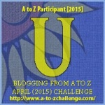 A to Z Letter U