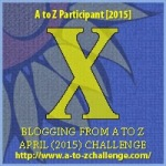A to Z Letter X