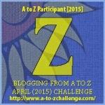 A to Z Letter Z