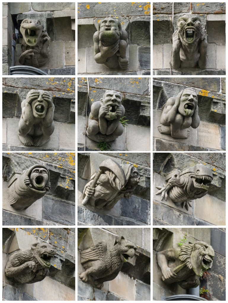 Paisley Abbey New Gargoyles