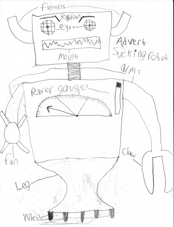 Adverb Sucking Robot
