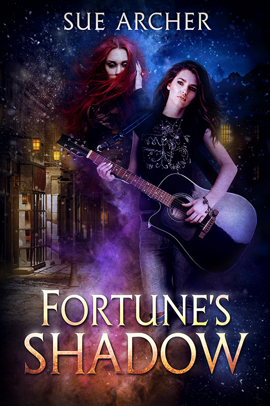 Cover - Fortune's Shadow by Sue Archer